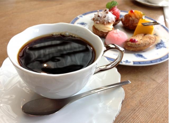 お菓子とブラジルコーヒー